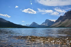 Bow Lake Canada Stock Image