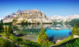 Canadian Mountains, Canada Parkway Tour Stock Images