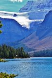 Bow Lake Jasper , Alberta Stock Photo