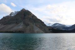Bow Lake Waterfall Stock Photo