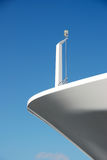 Bow of Luxury Yacht Stock Image