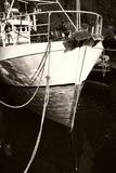Bow Of A Fishing Vessel In Norway Stock Photos