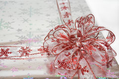 Bow on package Stock Images