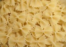 Bow pasta textured Royalty Free Stock Photos