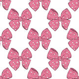 Bow pattern Royalty Free Stock Images