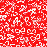 Bow pattern seamless Royalty Free Stock Images