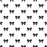 Bow pattern vector Royalty Free Stock Photos