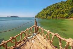Pirate ship bow Stock Photos