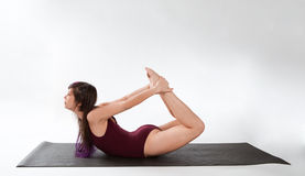 Bow Pose Royalty Free Stock Photos