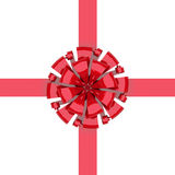 Bow with ribbon Stock Image