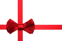 Bow with ribbon Royalty Free Stock Photo