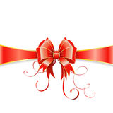 Bow and ribbon Royalty Free Stock Photos