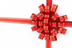 Bow, ribbon, gift  Stock Images