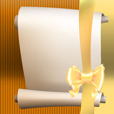 Bow ribbon gift  Stock Photos