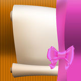 Bow ribbon gift  Royalty Free Stock Image