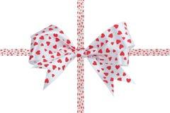 Bow ribbon isolated on white background Stock Images