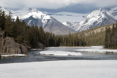 Bow river Stock Images