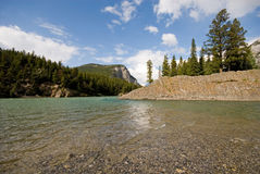 Bow River Royalty Free Stock Image