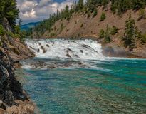 Bow River Banff, Canadian Rockies royalty free stock image