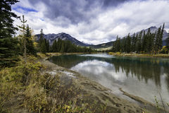 Bow River near Banff Stock Photography