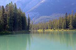 Bow River Turquoise Royalty Free Stock Photography