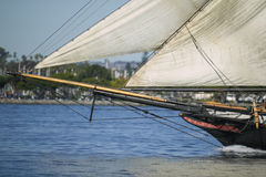 Bow of a Sailing Ship Royalty Free Stock Photography