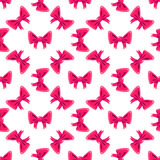 Bow Seamless Pattern. Vector Illustration Royalty Free Stock Photo