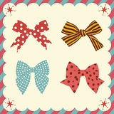 Bow set Stock Photo