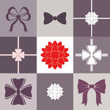 Bow. Set Stock Images