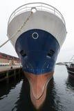 Bow of a ship - Killybegs Docks - Ireland Royalty Free Stock Photography