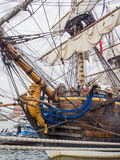 Bow of tall ship Gotheborg Royalty Free Stock Image