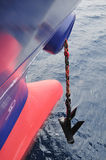 Bow of the tanker crude oil ca Stock Photography
