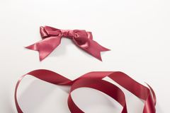 Bow and tape Stock Photo