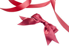 Bow and tape Royalty Free Stock Images