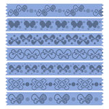 Bow Tape Pattern Royalty Free Stock Photos