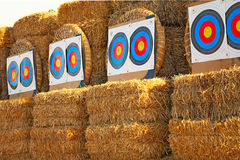 Bow targets Stock Photos