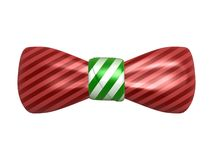 Bow tie. Isolated on white background Stock Images