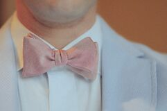 bow-tie-businessman-fashion-man Royalty Free Stock Photo