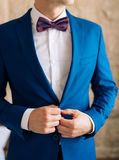 The bow tie. Close the frame Royalty Free Stock Photography