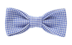Bow tie closeup on white background Stock Images