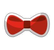 bow tie elegant icon Stock Image