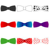 Bow tie. Flat design, illustration royalty free illustration