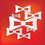 Bow tie icon Stock Image