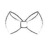 Bow tie icon Royalty Free Stock Images
