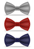 Bow tie for men a suit vector illustration Royalty Free Stock Photography
