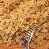 Bow tie pasta Stock Photography