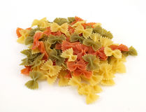 Bow tie pasta Royalty Free Stock Image