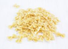Bow tie pasta Royalty Free Stock Photos