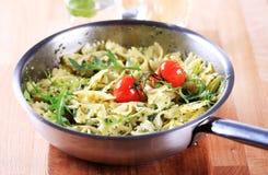 Bow tie pasta salad Stock Photo