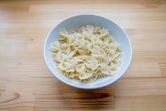 Bow-tie pasta Stock Photos